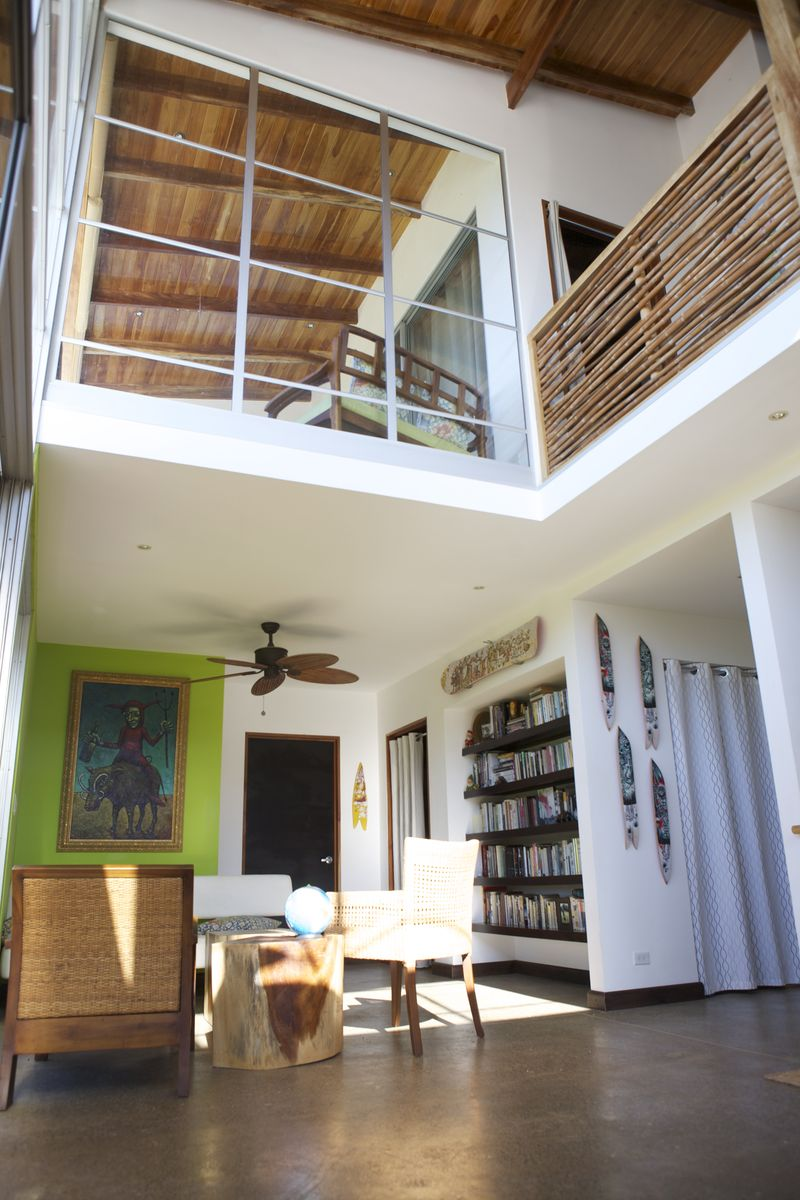 Bookroom and loft